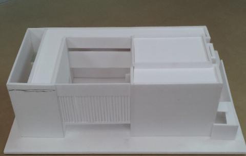 成城藤田邸模型.jpg