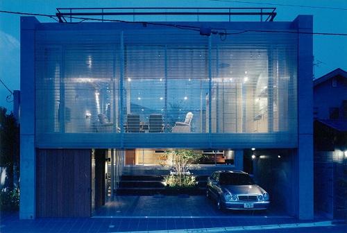 住宅の階段-1